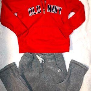 Boys sweatshirt & sweatpants set